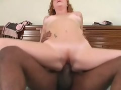 Cherry Poppens gets off riding a large black penis