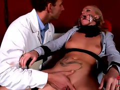 Kathia Nobili fingered and tortured by a filthy lad
