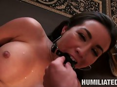 Stephanie Moretti filthy gal got tortured and cum filled