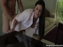 India Summer is a luscious swinger that gets crushed by her husbands friend