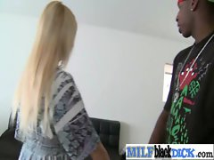Luscious Mummy Banged Horny By Black Pecker vid-13