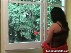 Big titted Latina gets snatch and arsehole banged