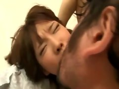 Poor asian lady screwed and cum shower