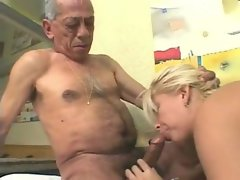Ugly Older Men banging sensual Light-haired