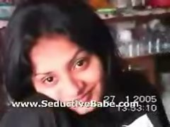 Pretty Bengali cutie in homemade sex video clip with Bengali Audio - Part 1 of 3
