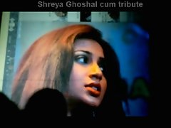 Sexual Bollywood Singer Shreya Ghoshal cum tribute