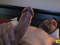 Taxi driver jerking off