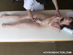 19yo Dirty wife reluctant Orgasm during Health Massage 5