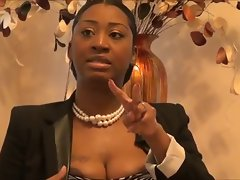 WTF?! Lustful ebony Mum Hooters & Gospel? - Ameman