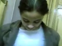 arab hijab young woman banged rough