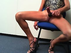 strappy heels spurting