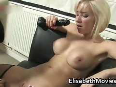 Attractive latin slutty girl gets her vagina fondled part4