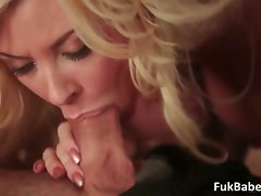 Buxom sensual big boobed blond sexual part3
