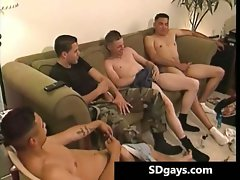 Amazing group sex with attractive Anthony part5