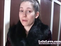 Lelu Love Does Her Cat Wench Dick sucking Fantasy