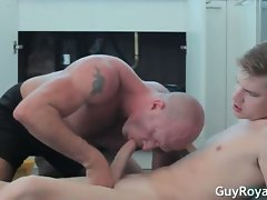 Libidinous Handyman Sam Harvest and Jake part3