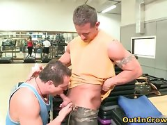 Filthy gay dudes suck hard shaft and get part6