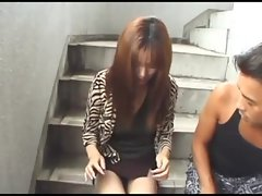 avmost.com - Excellent Sensual japanese humming on a flesh flute in a car backseat