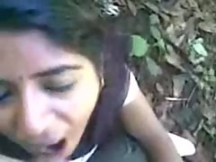 Seductive indian Chick Licking pecker and eat cum