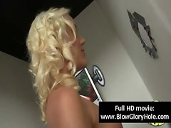 Glory Hole - Sensual Big titted Ladies Love Fellatio Phallus 26