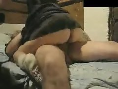 Slutty wife Riding Brutal to Orgasm