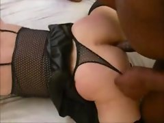 Crossdresser Oral and Rectal fun with bbc