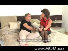 Stepmom working Cougar slutty wife gets screwed