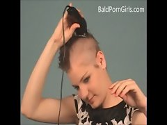 August has shaft head - BaldPornGirls.com video