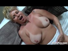 Buxom puma banged in the shower