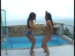 latina twins shagged anally