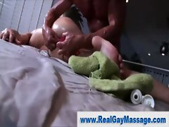 Straighty amatuer twink caresses masseuse dick