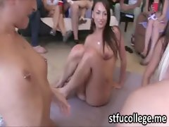 Absolutely cool students party which turns into massive orgy