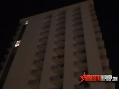 Memorial Day Weekend Ratchetness Man Caught Demolishing P sy Outside Balcony! ( Warning NSFW) - W