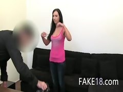 Artificial agent loving fuck with filthy chick