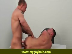 Alluring stud getting screwed by sensual fellow 15