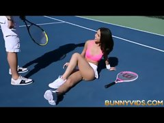 Attractive Outdoor Tennis Sex BUNNYVIDS.COM