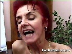 Attractive mature nymphos go lezzy with their toys