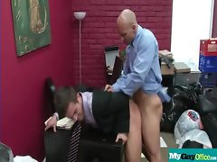 The Gay Office - Gay Asshole Sex &amp_ Pecker Massage Movies 14