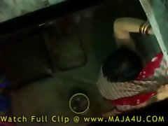 seductive indian aunty bathing and banging