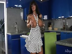 Lisa Ann Attractive Horny - Large melons Mommy from http://www.specialsexyvideos.com