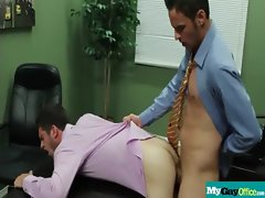 The Gay Office - Gay Anus Sex &amp_ Prick Massage Movies 11