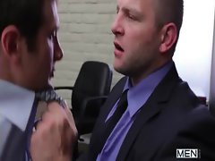 The Gay Office - Gay Backdoor Sex &amp_ Prick Massage Movies 01
