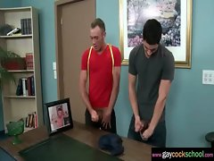 Huge peckers At School - Gay Backdoor Sex Phallus Massage In Gay Screwing 26