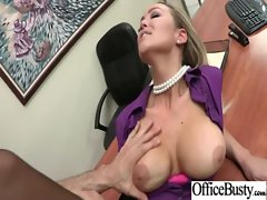 Chesty Office Nymphos Get Horny Bang At Work vid-01