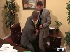 The Gay Office - Gay Asshole Sex &amp_ Shaft Massage Movies 26