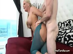 Blond Mama Is Unstoppable Fuck Machine Once She Gets Going