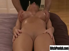 Sensual Attractive Client Seduce And Banged Rough By Masseur clip-34
