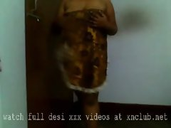 aunty naked own room