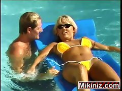 Gias Pool Party Chennin Blanc, Tempting blonde Outdoors Public cumshot explicit cock sucking