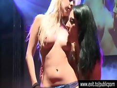 Public Lesbo orgasms Katrina and Natasja